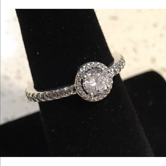 f7caa3254 Pandora Jewelry   Classic Elegance Ring Clear Cz 190946cz   Poshmark